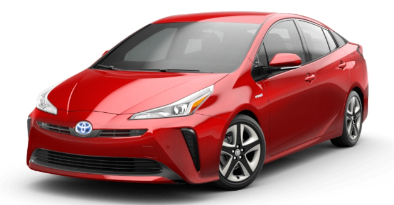 2020 Toyota Prius Supersonic Red