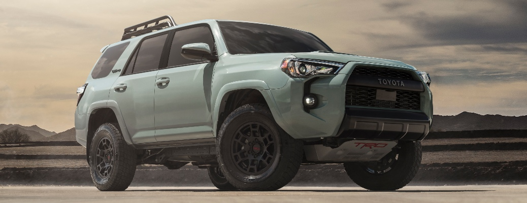 Enjoy offroading in the 2021 Toyota 4Runner TRD Pro!