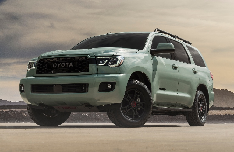 2021 Toyota Sequoia TRD Pro in Lunar Rock