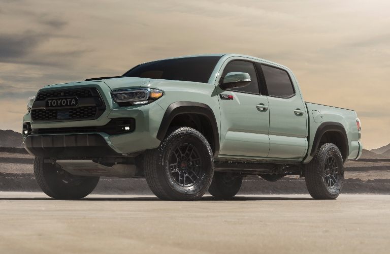 2021 Toyota Tacoma TRD Pro in Lunar Rock