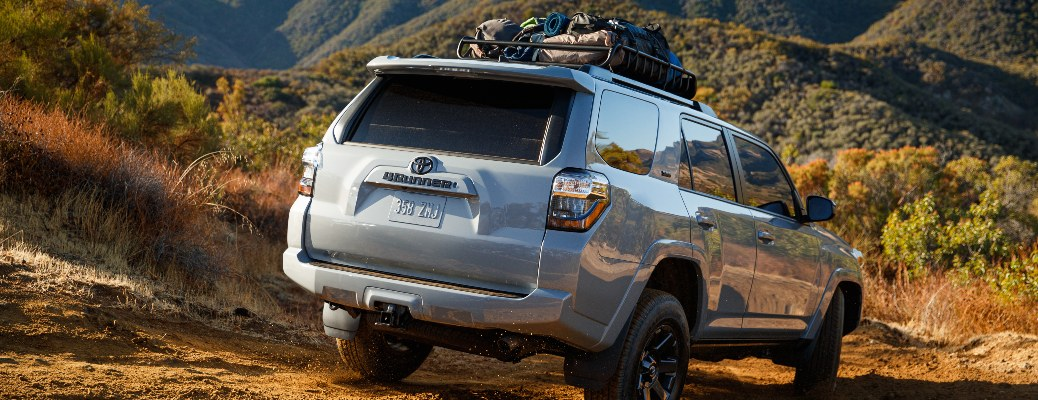 2021 Toyota 4Runner Trail Edition driving away