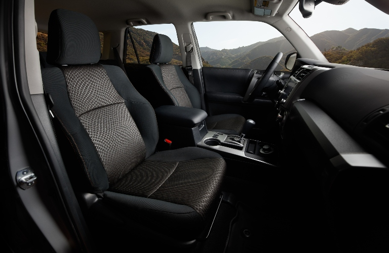 Interior of the 2021 Toyota 4Runner Trail Edition