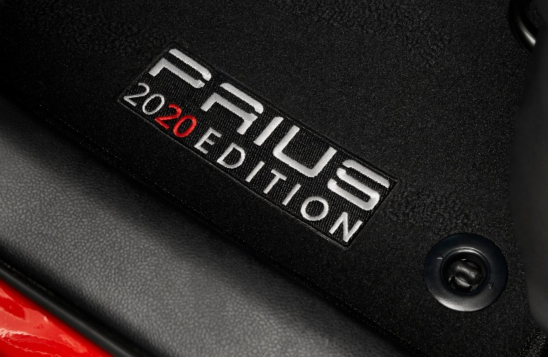2021 Toyota Prius 2020 Edition inside the vehicle