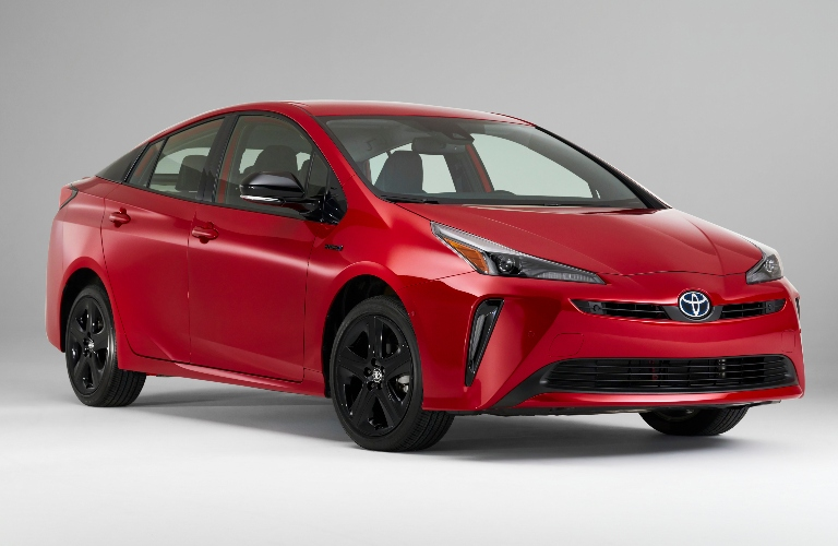 2021 Toyota Prius 2020 Edition parked with a white background