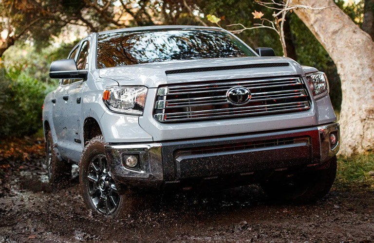 Front end of the 2021 Toyota Tundra