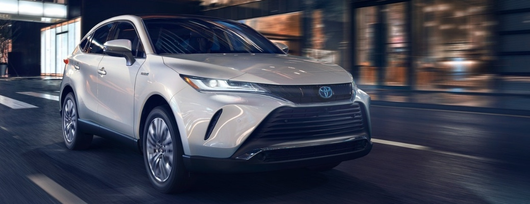Seven stunning color options lead the way for the 2021 Toyota Venza