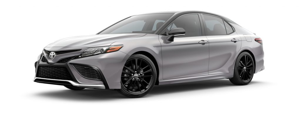 2021 Toyota Camry Celestial Silver and Midnight Black Metallic