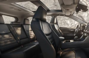 2021 Toyota RAV4 front and back seats