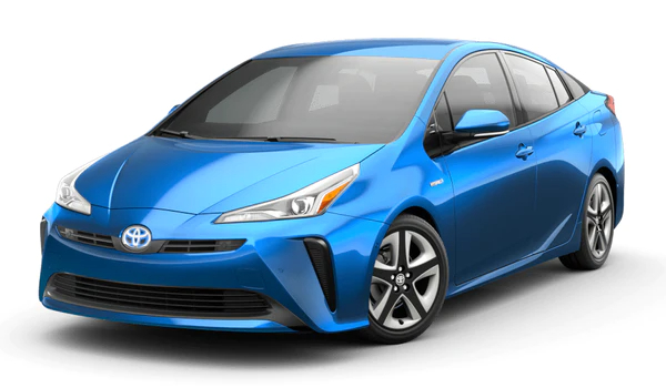 2021 Toyota Prius Electric Storm Blue