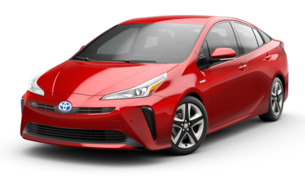 2021 Toyota Prius Supersonic Red