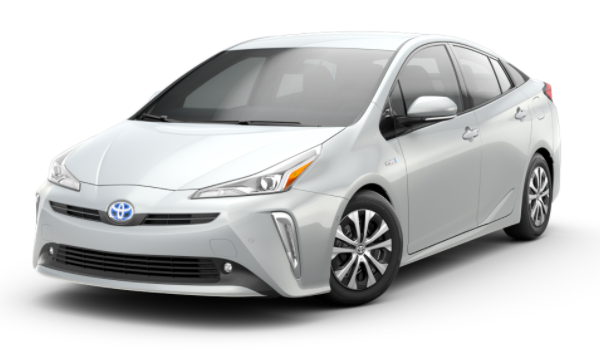 2021 Toyota Prius Wind Chill Pearl