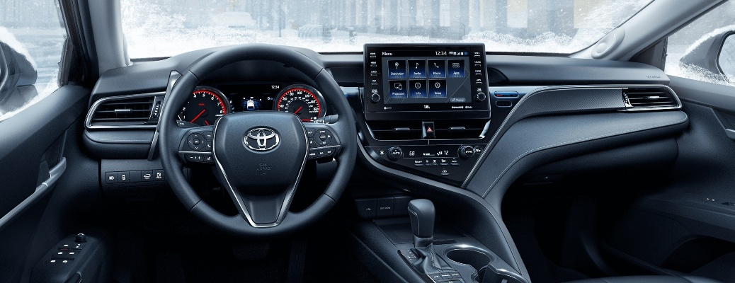 Stay connected while on the road in the 2021 Toyota Camry!