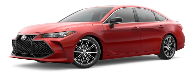 2021 Toyota Avalon Supersonic Red