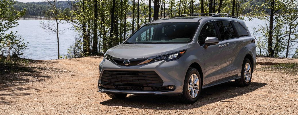 2022 Toyota Sienna Woodland Special Edition in the woods