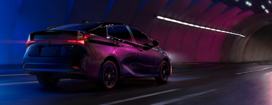 2022 Toyota Prius side view