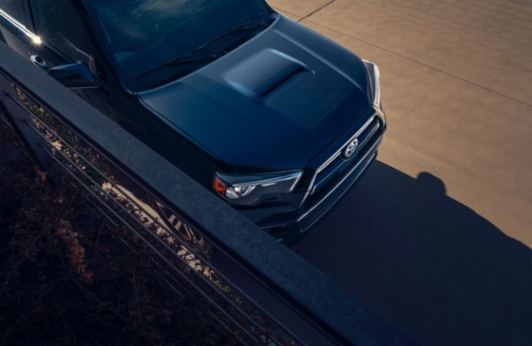 top hood view of the 2021 Toyota 4Runner
