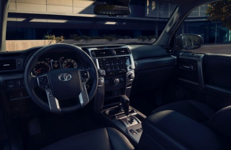 dashboard view of the 2021 Toyota 4Runner