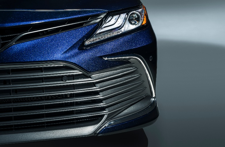 2021 Toyota Camry close up of front end