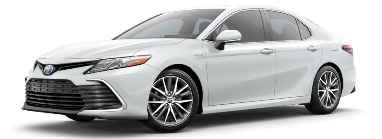 2021 Toyota Camry Hybrid Wind Chill Pearl