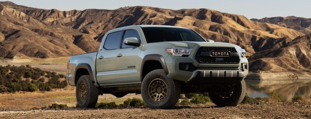 The 2022 Toyota Tacoma Comes with Two New Trim Levels