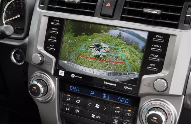 infotainment system of the 2022 Toyota 4Runner