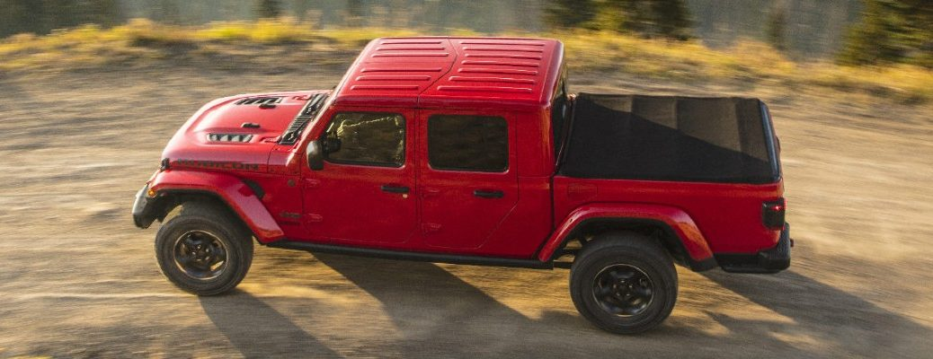 Red 2020 Jeep Gladiator