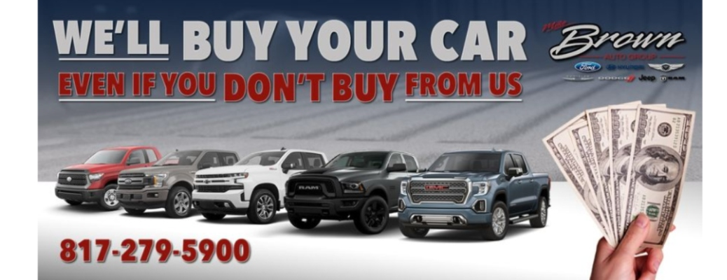 Sell my car, truck, or SUV!