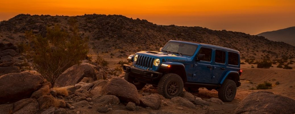 2021 Jeep Wrangler Rubicon 392 at sunset