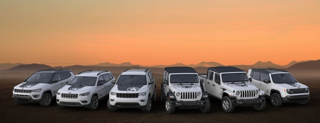 What are the Jeep Special Edition Freedom Models?
