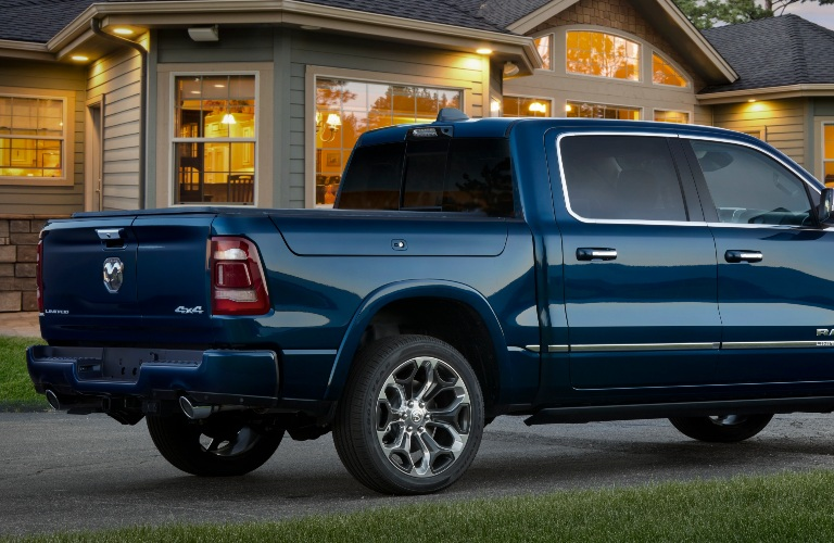 2022 RAM 1500 Limited 10th Anniversary Edition back end