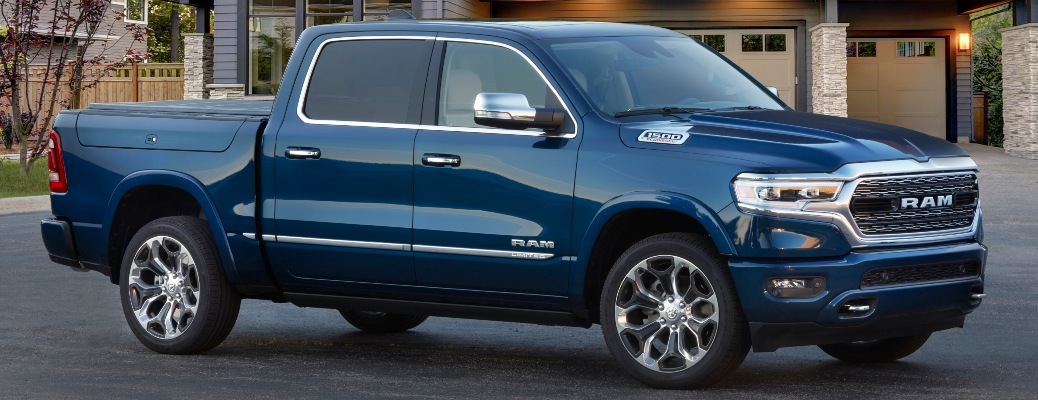 2022 RAM 1500 Limited 10th Anniversary Edition parked
