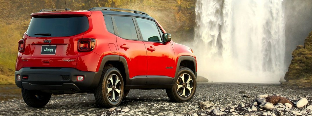 What are the Color Options for the 2020 Jeep Renegade?