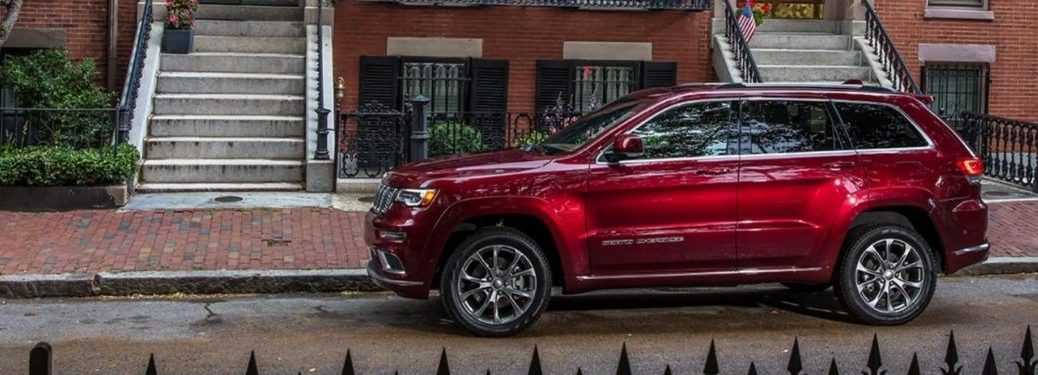 2021 Jeep Grand Cherokee exterior driver side profile