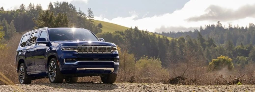 2022 Jeep Wagoneer exterior front fasci;a passenger side offroad