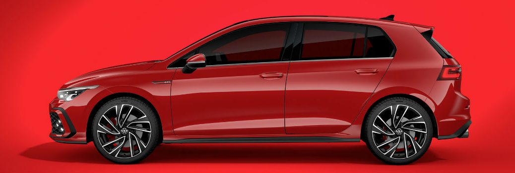 All-new VW Golf GTI Exterior Driver Side Profile