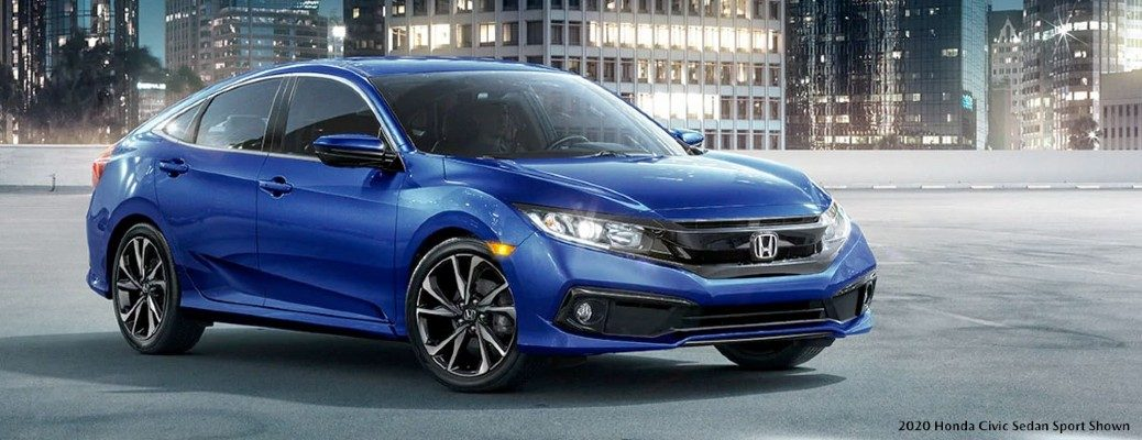Honda Civic front side view