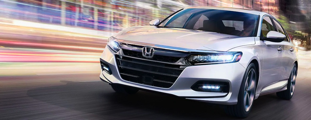 2020 Honda Accord going down the road