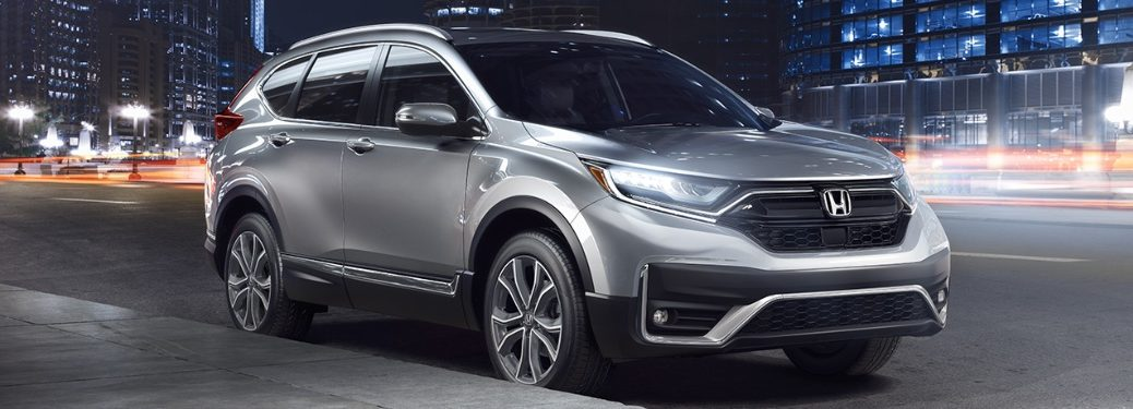 2020 Honda CR-V Touring parked on the side of the road