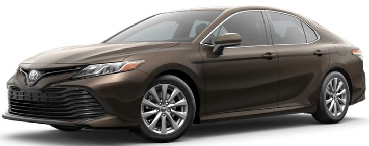 2018 Toyota Camry Brownstone