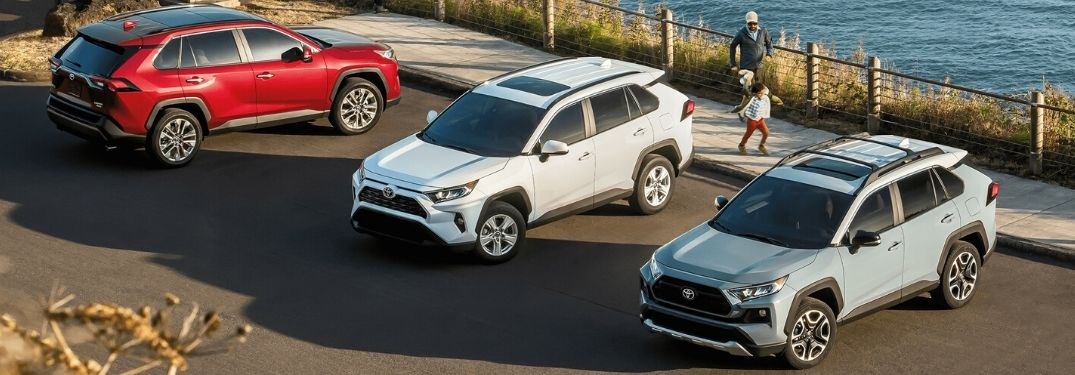 What Grades Does the 2020 RAV4 Come in?