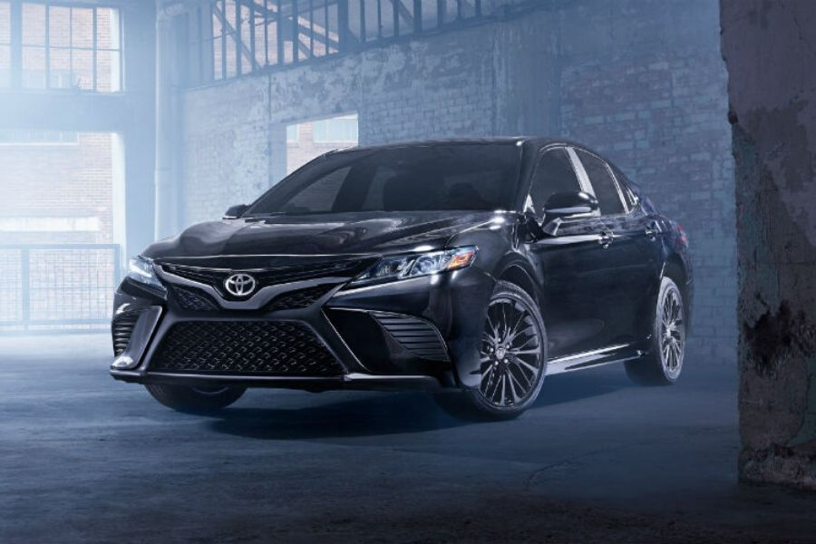 2020 Toyota Camry Nightshade Edition from exterior front drivers side