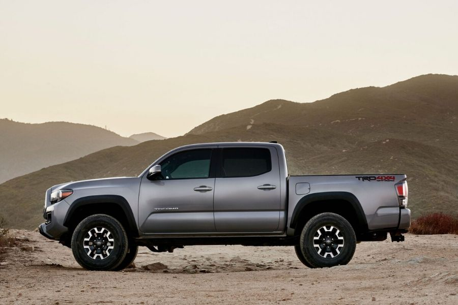 2020 Toyota Tacoma from drivers side view