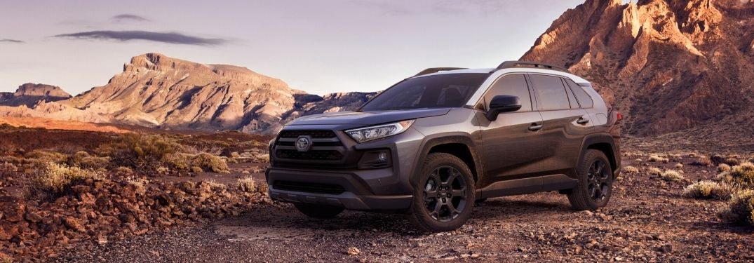 What kind of safety technology is on the 2020 Toyota RAV4?