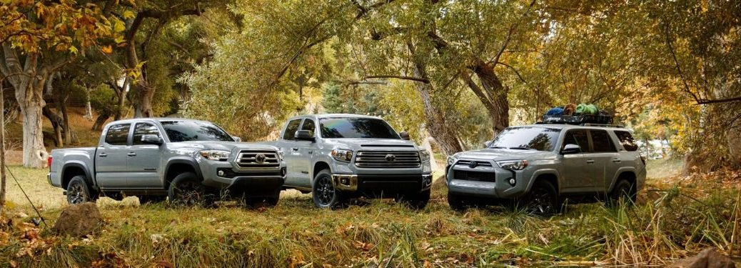 2021 Toyota Trail Special Edition models