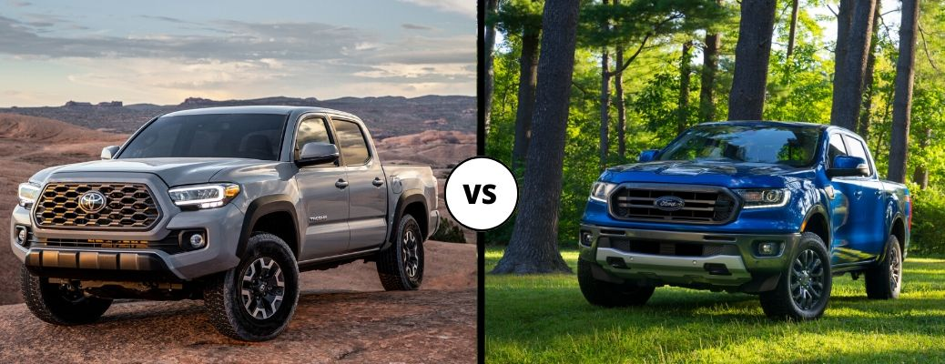 Watch How the 2020 Tacoma Compares to the 2019 Ranger
