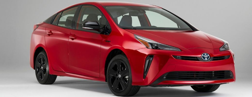 2021 Toyota Prius 2020 edition from exterior front
