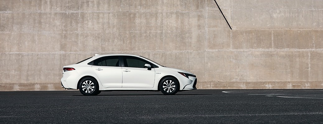 Check out the 2021 Toyota Corolla Hybrid!