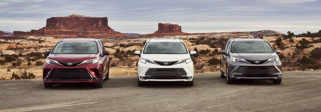 The 2021 Toyota Sienna Features Standard Hybrid Performance