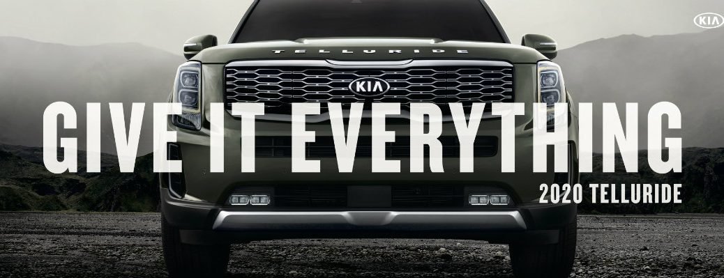 """Kia Telluride """"Give It Everything"""" Banner"""