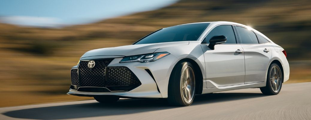 2020 Toyota Avalon driving on a highway